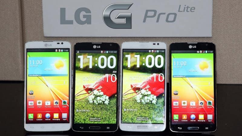 LG G Pro Lite Banner