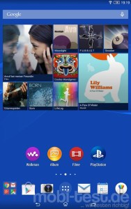 Sony Xperia Z3 Tablet Compact Screenshot