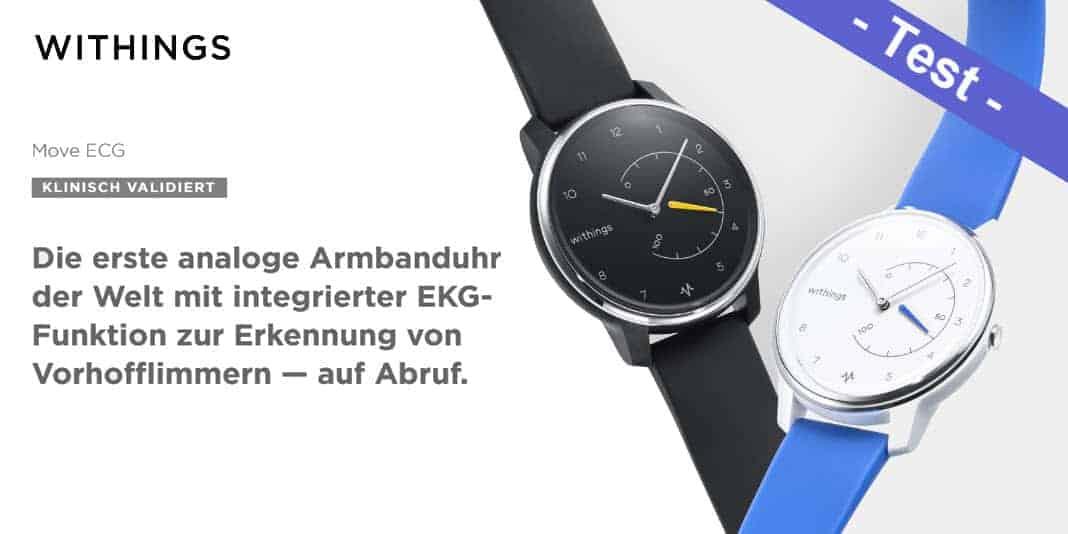 Withings Move ECG im Test - wie gut ist die Smartwatch mit..