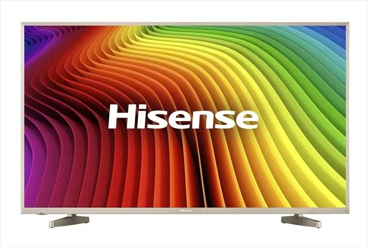 ハイセンス ミドルクラススマートテレビ HJ50N5000 と HJ43N5000 発売!