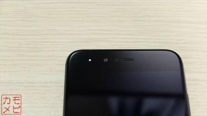 Xiaomi_MiA1 本体前面カメラ部分