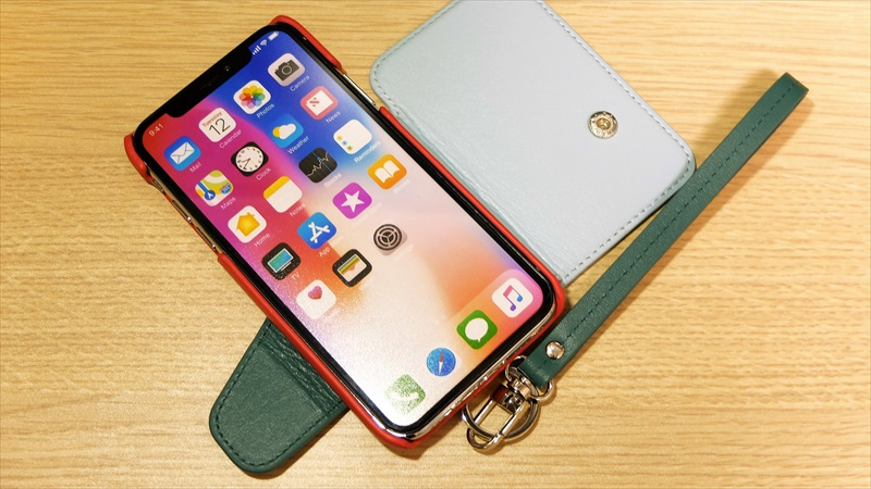 RAKUNI (ラクニ) Real Leather Case for iPhoneX