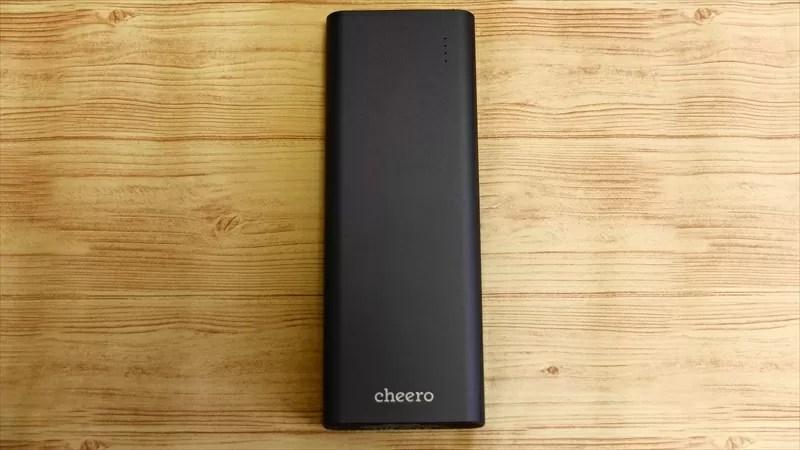 cheero (チーロ) Power Elite 20100mAh