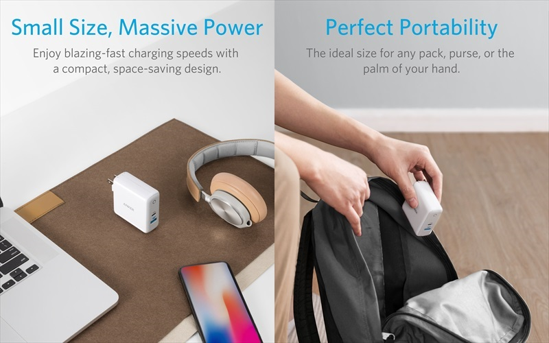 Anker PowerPort II PD – 1 PD and 1 PowerIQ 2.0