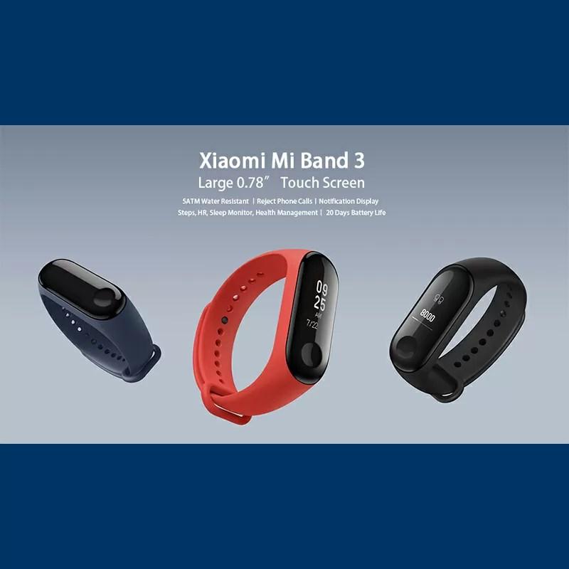 Xiaomi Mi Band3製品レビュー