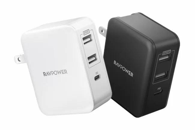 RAVPower USB PD3.0対応急速充電器RP-PC060