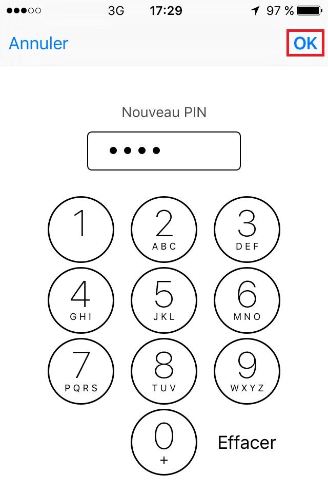 Carte SIM & Code PIN : iPhone 6 (iOS 11) • mobidocs