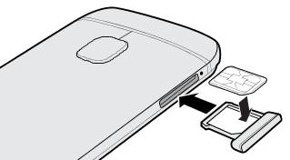 HTC one sim2