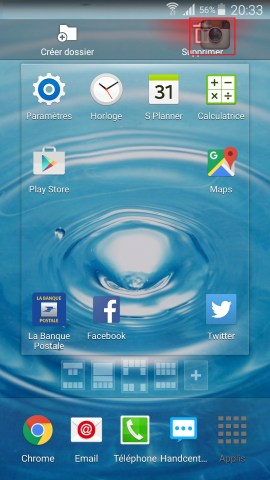 Applications Samsung android 6.0 application supprimer