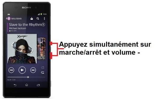 Sony Xperia Z2 screenshot