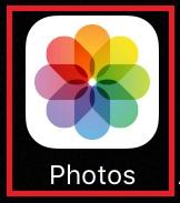 iPhone photo logo