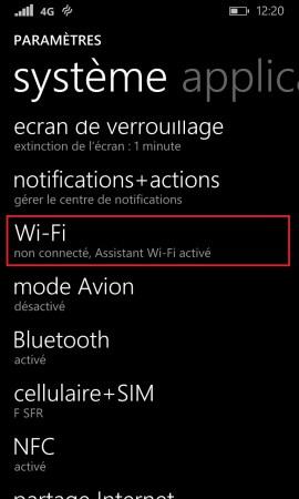 Internet Lumia windows 8.1 WIFI 2