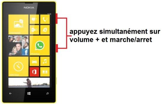 Microsoft Nokia Lumia 520 screenshot
