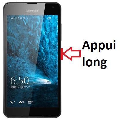 Nokia-Lumia-650-allumage