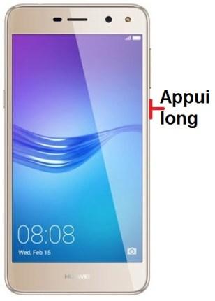 Huawei Y6 2017 allumage