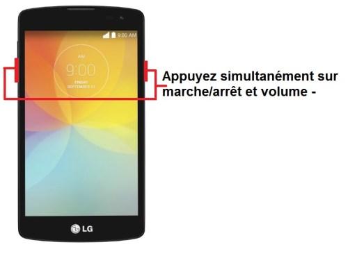 LG L60 screenshot