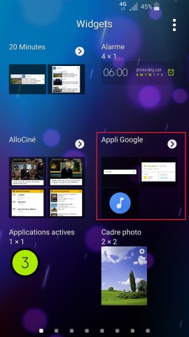 Personnaliser Samsung thème sonnerie fond d'écran-appli-google