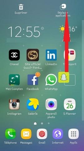 Personnaliser Samsung thème sonnerie fond d'écran applications