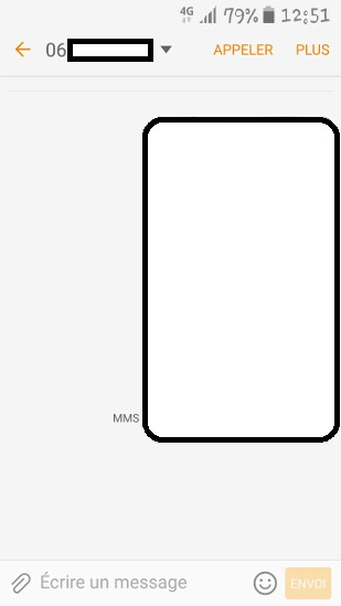 MMS Samsung android 6.0 (envoyer, ouvrir, dépannage