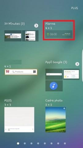 Personnaliser Samsung thème sonnerie fond d'écran widget