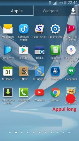 Personnaliser Samsung thème sonnerie fond d'écran application