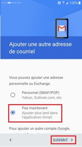 Activation Samsung (android 6.0) activation compte 15