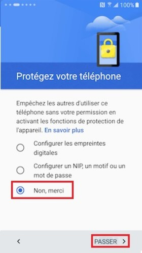 Activation Samsung (android 6.0) activation compte 16