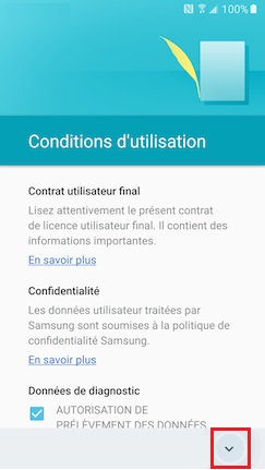 Activation Samsung (android 6.0) condition 5
