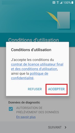Activation Samsung (android 6.0) activation condition 7
