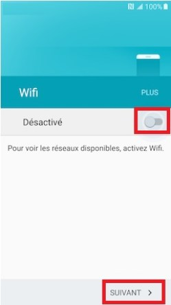 Activation Samsung (android 6.0) wifi 2