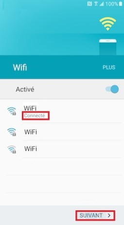 Activation Samsung (android 6.0) wifi 5