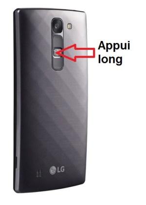 LG G4c allumage