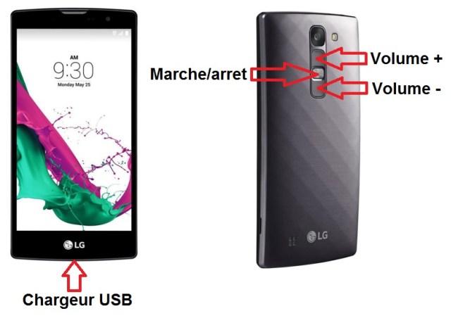 LG G4c bouton