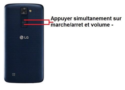 LG K10 screenshot