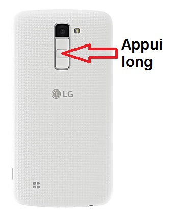 LG K4 allumage