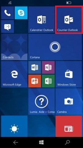 email Lumia windows 10 compte supprimer
