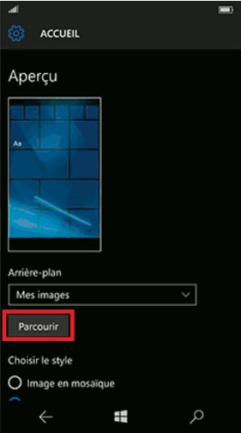 lumia 10 fond ecran 2