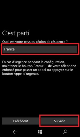Activation Microsoft Lumia Windows 10 pays 2