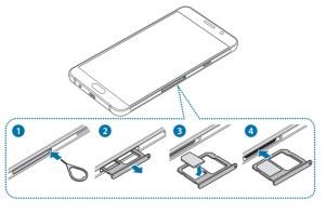 Samsung A5 2016 carte SIM simple SIM
