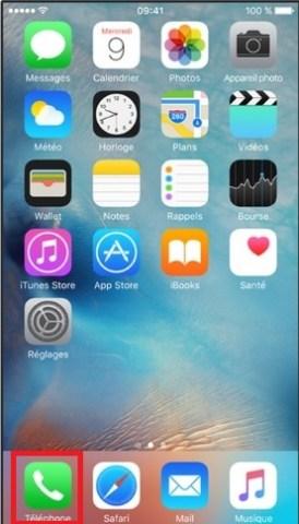 SMS iMessages iPhone 6 6S plus SE téléphone