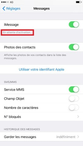 SMS iMessages iPhone 6 6S plus SE