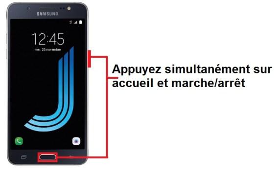Samsung Galaxy J5 2016 screenshot
