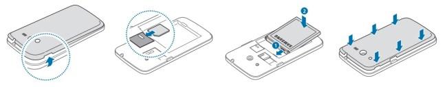 Samsung core 4G SIM