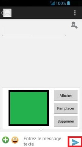 MMS Acer 4.2 MMS envoi