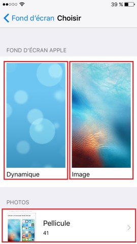 Personnaliser iPhone 6, 6S, Plus, SE-fond-ecran