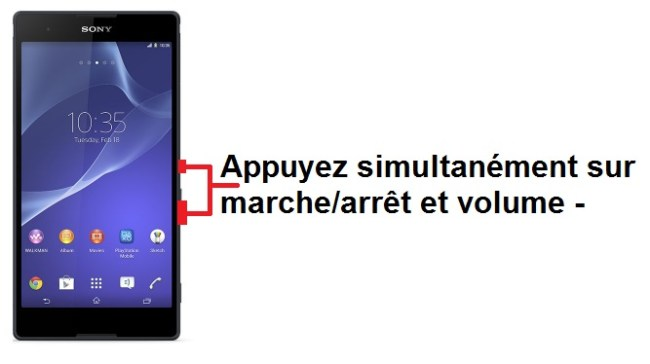 Sony Xperia T2 screenshot