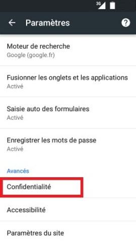 internet Wiko 6.0-chrome-confidentialite