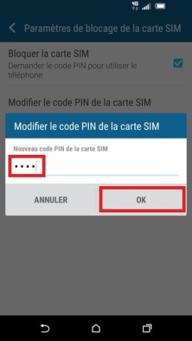 contact code pin ecran verrouillage HTC (android 6.0)-modif-pin-2