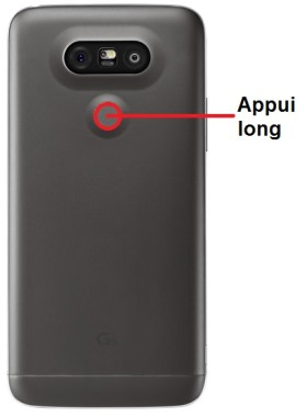 LG G5-allumage