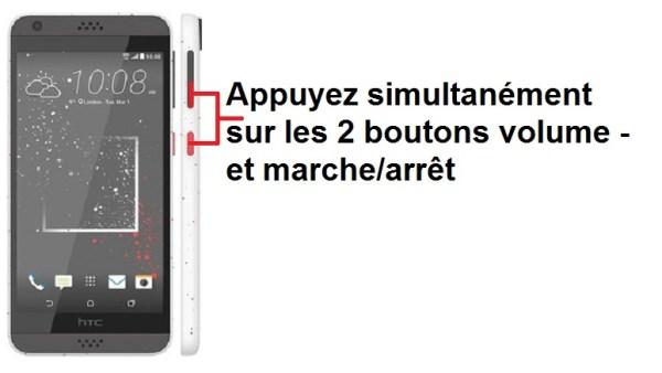 HTC Desire 530 capture